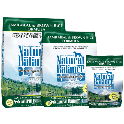 Natural Balance L.I.D. Lamb Meal & Brown Rice Formula for Dogs