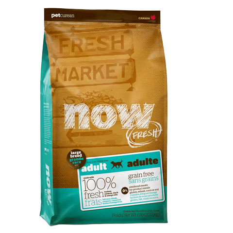 NOW FRESH Grain-Free Large Breed Formulas for Dogs