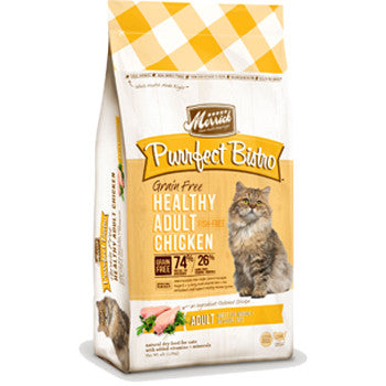 Merrick Purrfect Bistro Grain-Free Healthy Adult Chicken for Cats