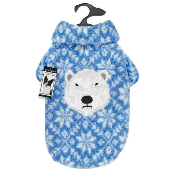 Zack and Zoey Elements Polar Bear Berber Jacket