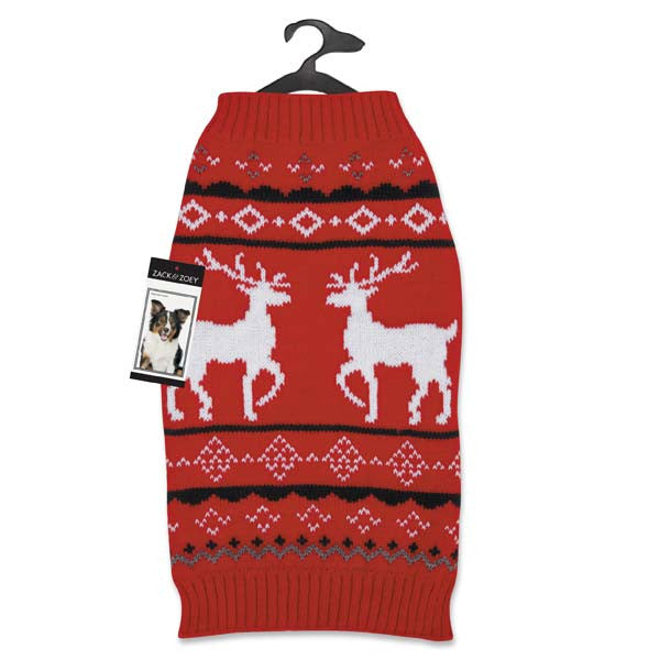 Zack and Zoey Elements Reindeer Sweater