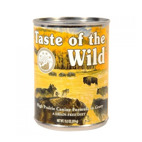 Taste of the Wild Canned Canine Formulas in Gravy