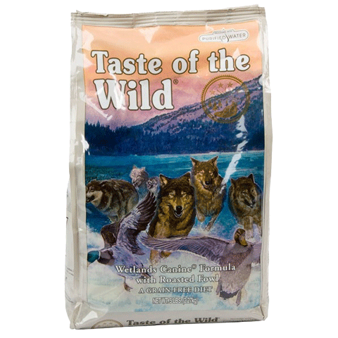 Taste of the Wild Wetlands Canine Dry Formula