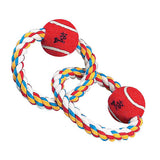 Zanies Twin Loops Rope Dog Toy