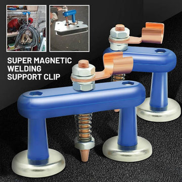 Magnetic Welding Support Clip