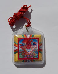 Protection Amulet - Red Garuda