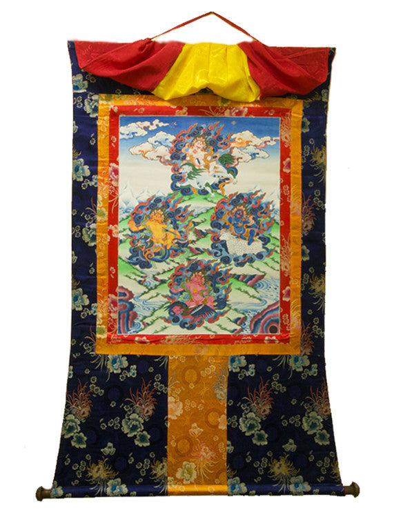 Thangka Four Elements - Zu Thrul Men Zhi