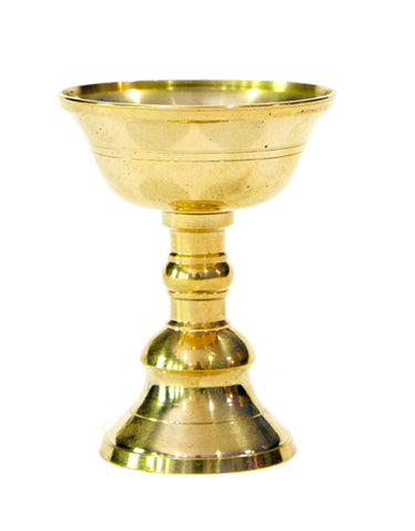 Butter lamp - Brass