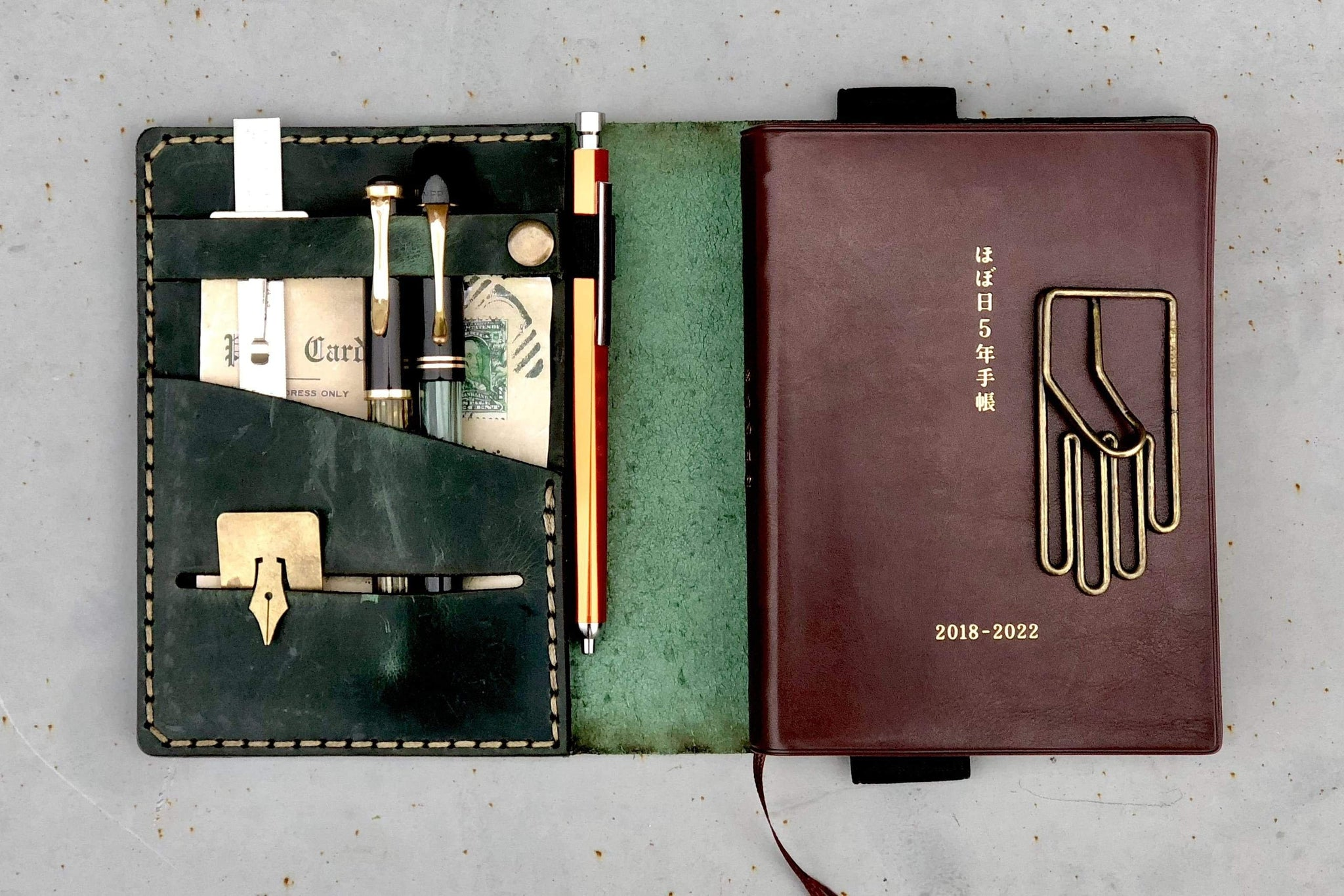 Hobonichi 5 Year Techo Planner Leather Cover