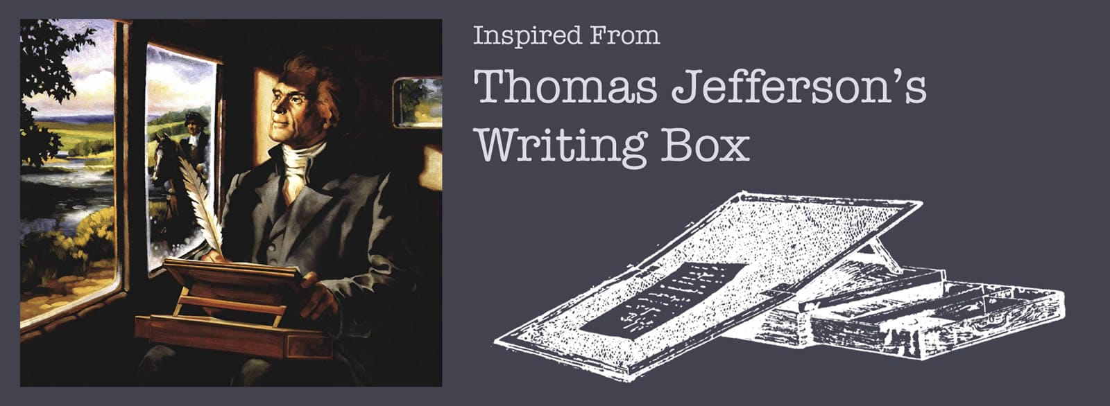 Inspired From Thomas Jefferson's Writing Desk