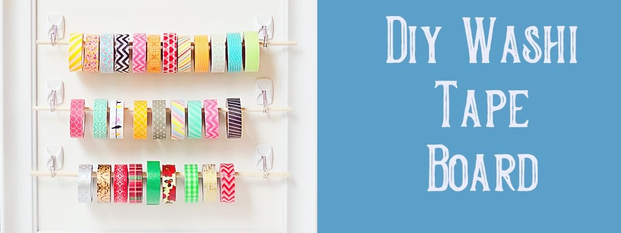 Diy Washi Tape Board