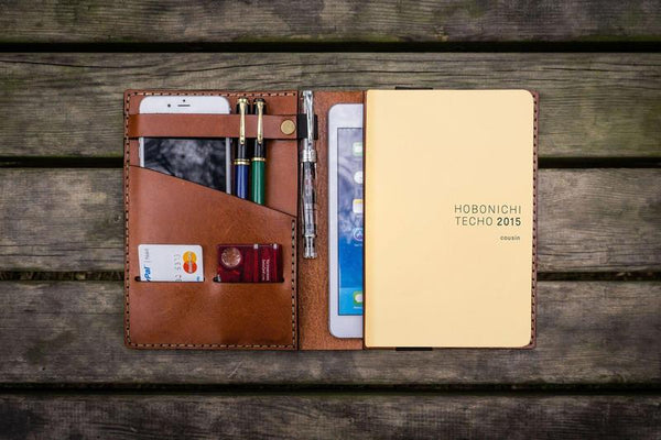 hobonichi cousin a5 leather cover