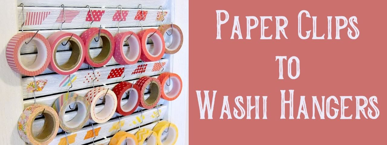 paper clips to washi holder