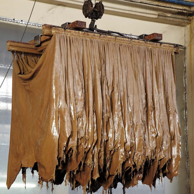 traditional vegetable leather tanning