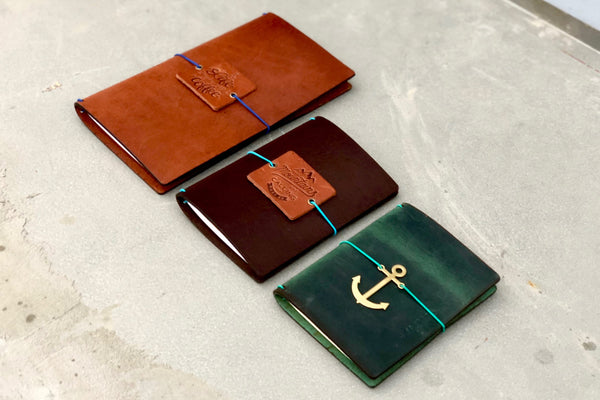 Traveler's Notebook Sizes - Galen Leather