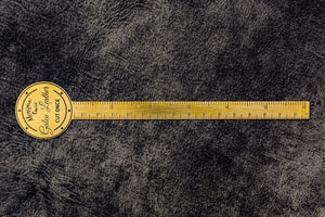 Brass Ruler - Letter Opener-Galen Leather