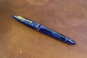 Leonardo Furore Fountain Pen - Galaxy Blue GT