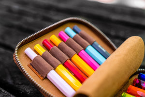Collector Pen Case for 14 Kaweco Pens-Galen Leather