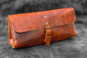 Distressed Leather Tool Bag-Galen Leather