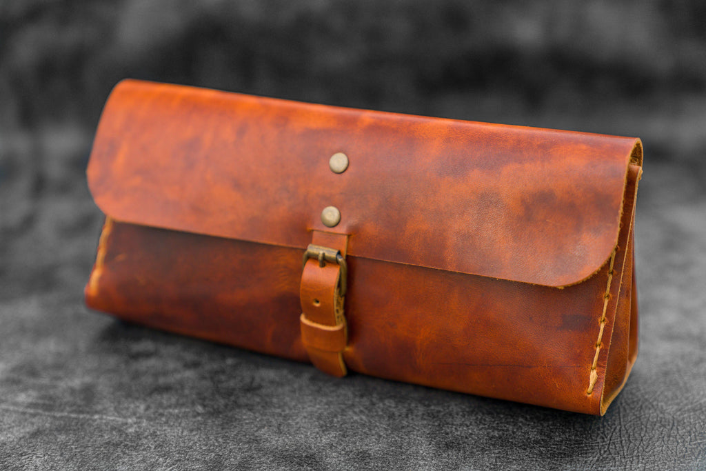 Distressed Leather Tool Bag - Galen Leather
