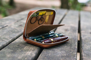 EDC Wallet - Brown-Galen Leather