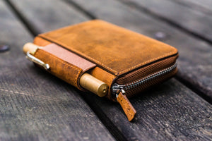 EDC Wallet - Crazy Horse Brown