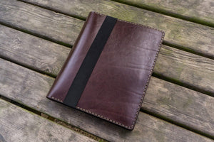 iPad Air/Pro & Extra Large Moleskine Cover - Dark Brown-Galen Leather