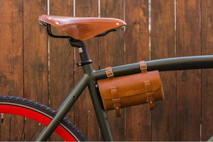 Leather Bicycle Saddle Bag-Galen_Leather
