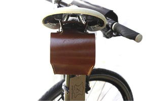 Leather Bicycle Saddle Bag Small-Galen_Leather