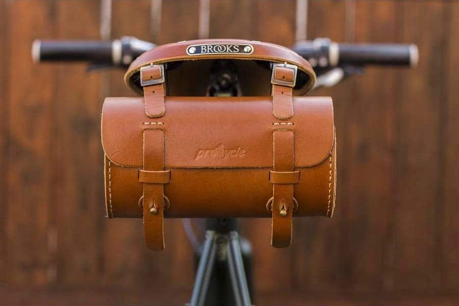 Leather Bicycle Saddlebag-Galen Leather