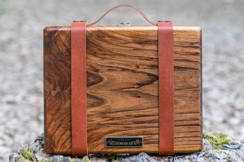 Leather Carry-On kit for The Writing Box-Galen Leather