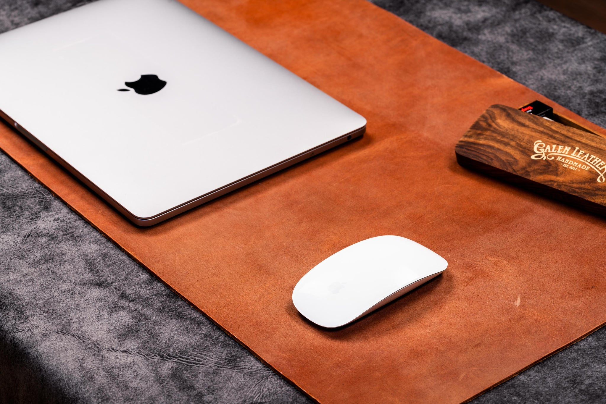 100 Genuine Handmade Leather Desk Protector Pad Galen Leather