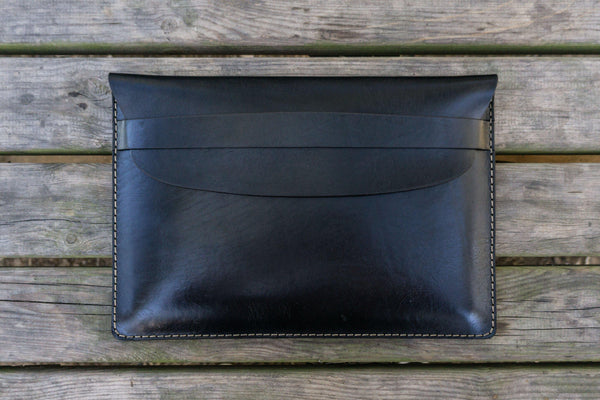 Leather Document Holder - Black-Galen Leather