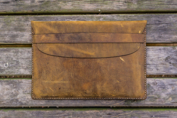 Leather Document Holder - Crazy Horse-Galen Leather