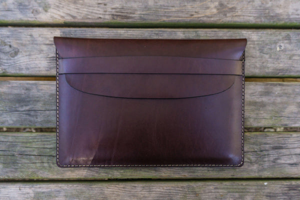Leather Document Holder - Dark Brown-Galen Leather