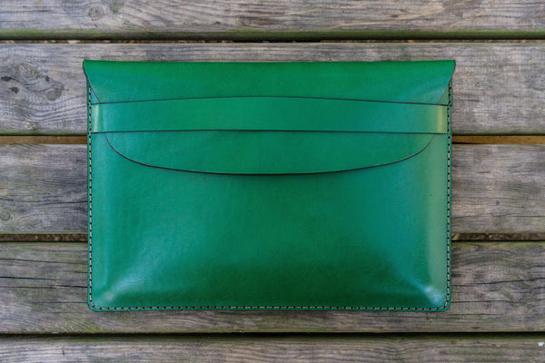 Leather Document Holder - Green-Galen Leather