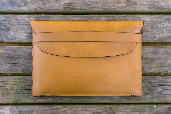 Leather Document Holder - Natural-Galen Leather