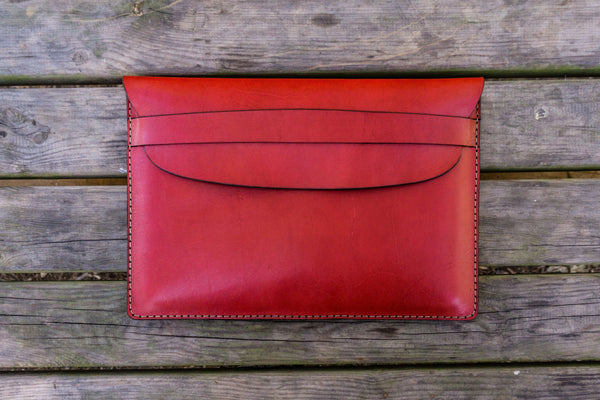 Leather Document Holder - Red-Galen Leather