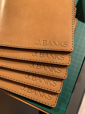 Leather Emboss For Corporate Orders-Galen Leather