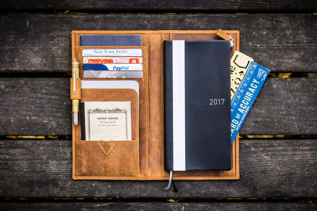 Leather hobonichi Weeks Cover - 20%