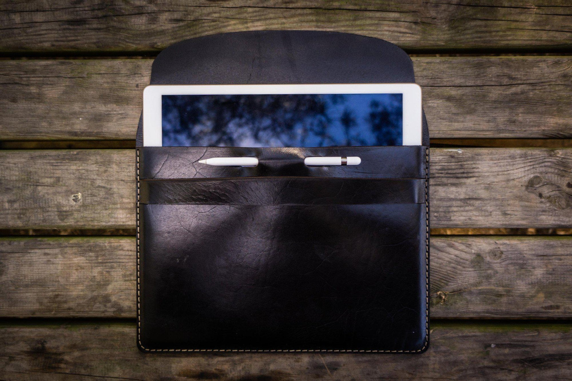 "Leather iPad Pro 12,9"" Sleeve - Multiple Colors-Galen Leather"