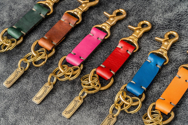 Leather Key Holder - Texas-