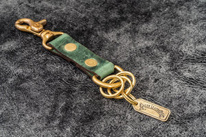 Leather Keychain - Alaska-Galen Leather