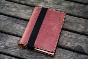 Leather Leuchtturm1917 A5 Notebook Cover - Crazy Horse Tan-Galen Leather