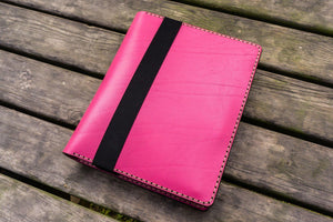 Leather Leuchtturm1917 B5 Notebook & iPad Air/Pro Cover - Pink-Galen Leather