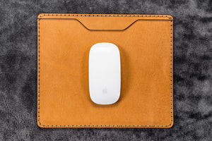 Leather Mouse Pad - Natural