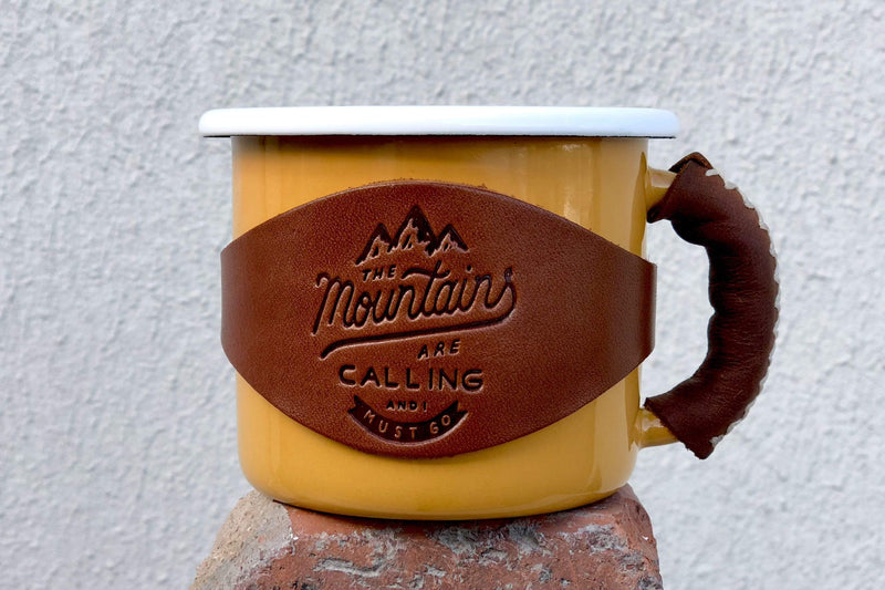 Leather Tag for Mugs-Galen Leather