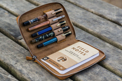 Zipper Fountain Pen Cases