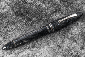 Leonardo Furore Fountain Pen - Vulcano Grey RT-Galen Leather