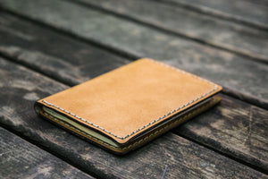 No.06 Leather Passport Holder - Natural-Galen Leather